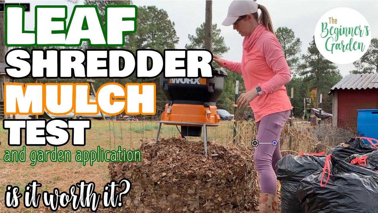Download Leaf Mulcher Test & Application in the Home Garden