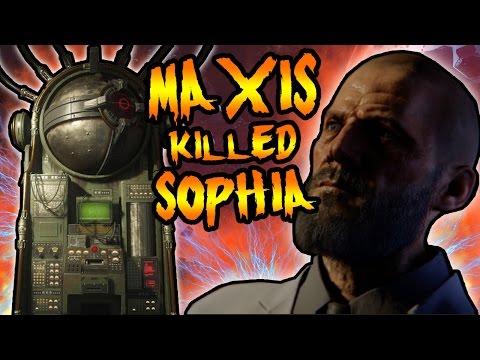DR MAXIS KILLED SOPHIA! REVELATIONS EASTER EGG EXPLAINED! Black Ops 3 Zombies Storyline