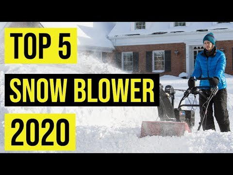 Best Snow Blowers In 2020 For Personel And Commercial Use
