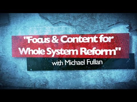 Topic Series 16 - Framework for Whole System Change