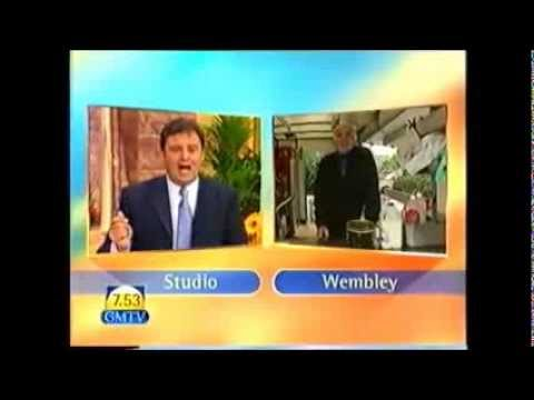 Carlo Little interview LIVE on GMTV, 11 June 1999