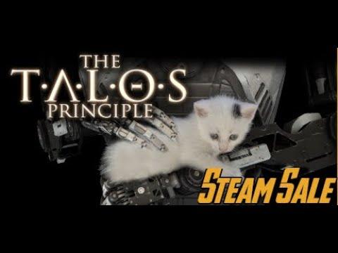 Talos Principle | Steam Sale $4 | Gameplay 2 | 3D Puzzle Game Unique Mechanics |
