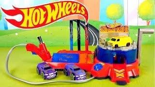 Машинки HOT WHEELS и покрасочная станция - Машинки Хот Вилс