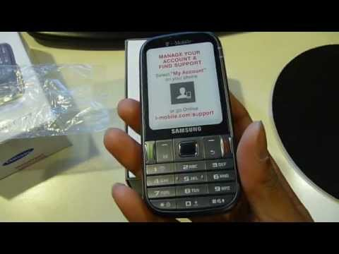 Samsung Gravity TXT Unboxing (T-Mobile)