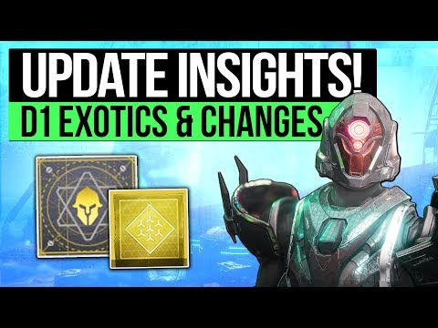 Destiny 2 | Bungie Talk Returning Exotics, Armor Rolls, New Mods, Bounties & More (Plus My Thoughts) thumbnail