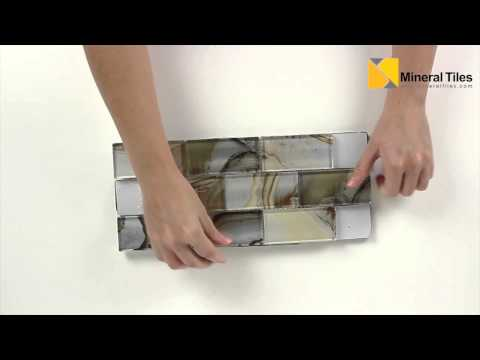 Glass Subway Tile Onyx Beige - 101OX524BEIG0204