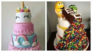 DIY decoração de bolos incríveis compilados