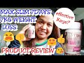 MAX SLIM 7DAYS 7KG WEIGHT LOSS/PRODUCT REVIEW 😘/mhaivlogs