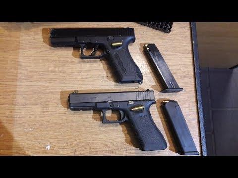 Zoraki 917 vs Glock 17