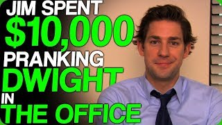 Jim Spent $10,000 Pranking Dwight in The Office (Hilarious Pranks and Jokes)