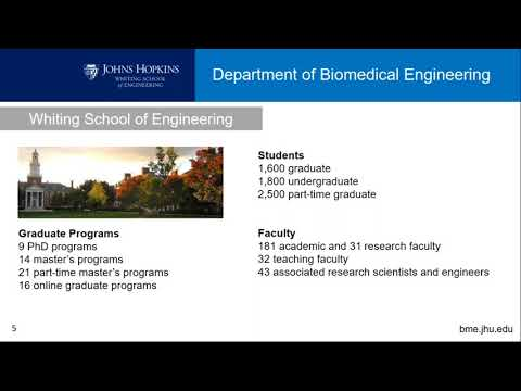 Online Information Session: Biomedical Engineering (Fall 2017)