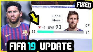 FIFA 19 NEW UPDATE - Things That Were Fixed (January 2019 Update)