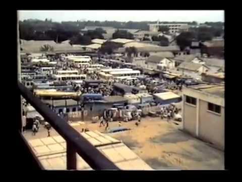 OH ! AFRICA --- GHANA --- BUSBAHNHOF ACCRA --- 1985