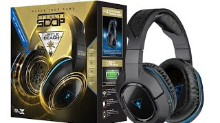turtle beach stealth 400 wireless headset unboxing and set up