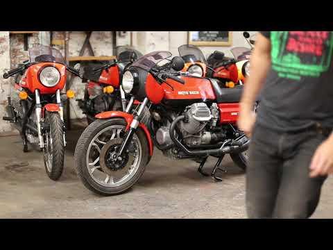 1978 Moto Guzzi Lemans 1 Start up and rev