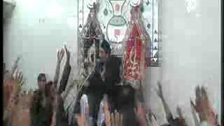 Allama Zamer Akhtar Naqvi  2nd moharam2 Imam Bargah Chaharda Masoomeen Ancholi, Karachi, Pakistan