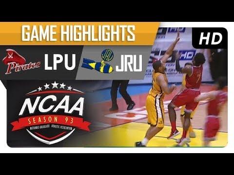 JRU vs LPU | NCAA 93 | MB Game Highlights | October 13, 2017