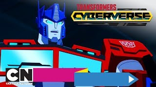 Transformers: Cyberverse | Podróż | Cartoon Network
