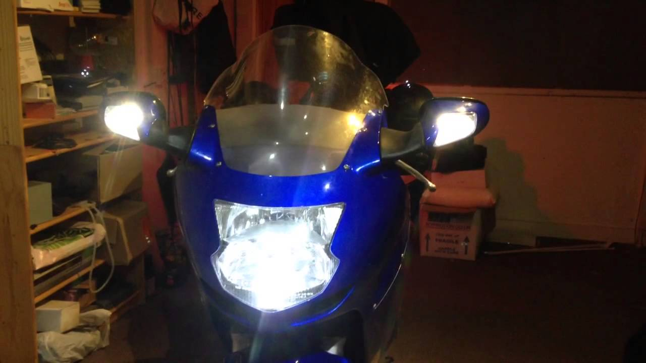 Honda blackbird side light conversion & Honda blackbird side light conversion - YouTube azcodes.com