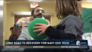 Long road to recovery for Navy EOD tech