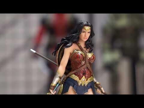 Video Kotobukiya Justice League Movie Wonder Woman ArtFX Statue