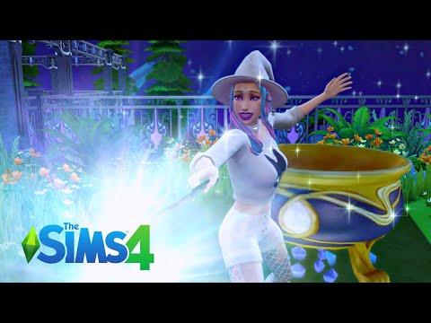 The Sims 4 Realm Of Magic : วิธีเปลี่ยนซิมให้กลายเป็นนักเวทย์