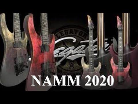 Legator гитары. Chris Poland (Ex- Megadeth). NAMM 2020