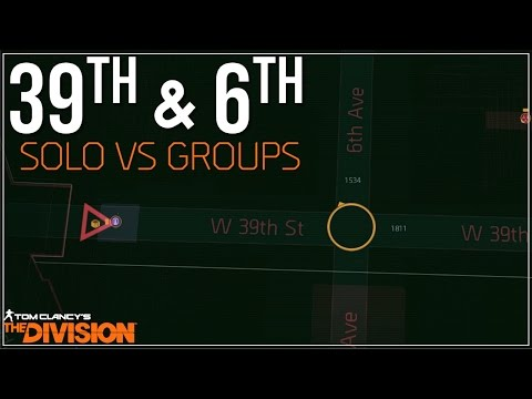 The Division | 39th & 6th - Solo VS Groups