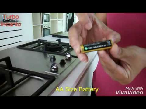 Change Battery Of Turbo Built In Hobs