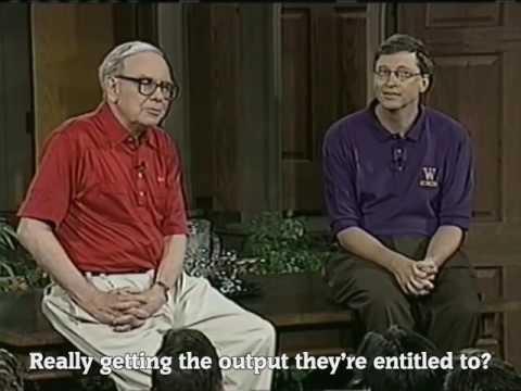 Warren Buffet -  Inspiring Words