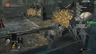 Dark Souls III Black Knight Greatsword All Bosses speedrun