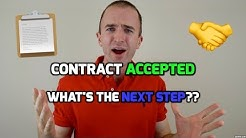 How to Buy a House | 10 Steps to do Once Your Real Estate Contract is Accepted | Home Buying Process