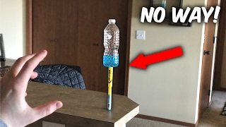 TOP 5 LUCKIEST WATER BOTTLE FLIPS OF 2017 (Insane Water Bottle Flip Trick Shots)