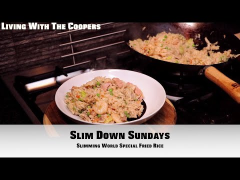 INCREDIBLE Slimming World Special Fried Rice SYN FREE - Slim Down Sundays