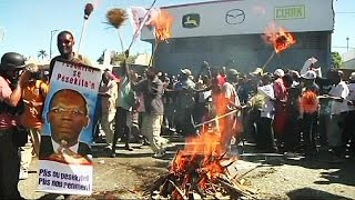 More protests in Haiti as country faces prospect of starting 2015 without a government