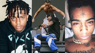 Ski Mask The Slump God Cries Reacting to XXXTentacion Being Shot Dead