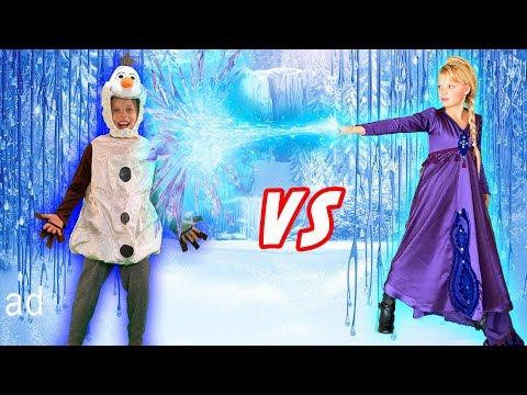 Frozen 2 Paxton Vs Payton OSMO Super Studio!