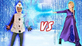 Frozen 2 Paxton vs Payton OSMO Super Studio!