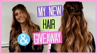 My New Hair & GIVEAWAY (Hair Fashion Night) | katerinaop22