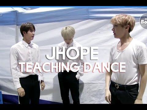 Jhope teaching dance compilation
