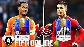FIFA ONLINE 4 TEST HÀNG TUYỂN 19TOTS C. Ronaldo 19TOTS Vs Van Dijk 19TOTS - ShopTayCam.com
