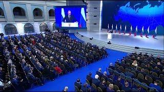 Основные тезисы 15-го обращения Владимира Путина к Федеральному собранию