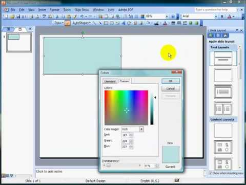 Making your own play money with powerpoint tutorial PART 1 of 2 - make your own template