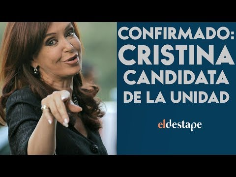 Confirmado: Cristina candidata de la unidad | El Destape con Roberto Navarro EN VIVO