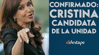 Confirmado: Cristina candidata de la unidad | El Destape con Roberto Navarro