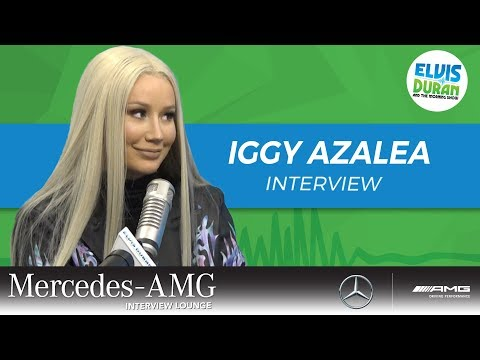"""Iggy Azalea Thinks Alice Chater Is A """"Complete Superstar""""  Elvis Duran Show"""