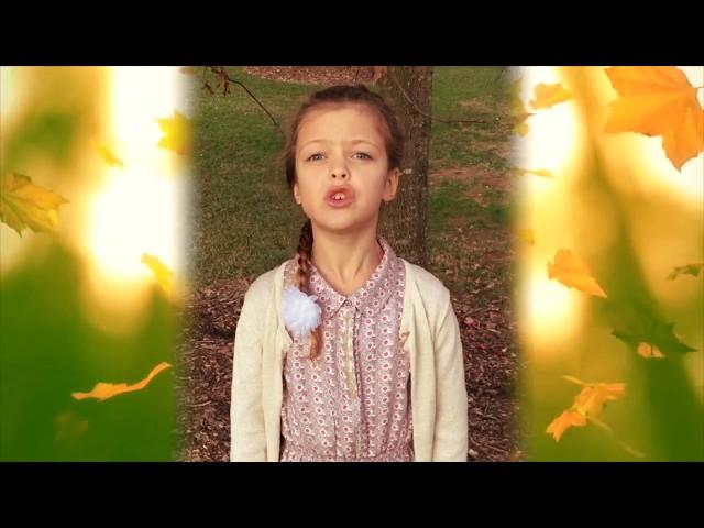 Изображение предпросмотра прочтения – ЗлатаКузьмина читает отрывок изпроизведения «Славная осень» Н.А.Некрасова