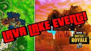 *NEW* FORTNITE CUBE LOOT LAKE VOLCANO EVENT LIVE NOW LOOT LAKE WATCH FORTNITE