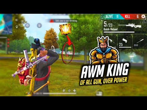 2 AWM Play Like Free Fire Hacker Gameplay Must Watch - Garena Free Fire
