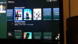 New DirecTV interface update